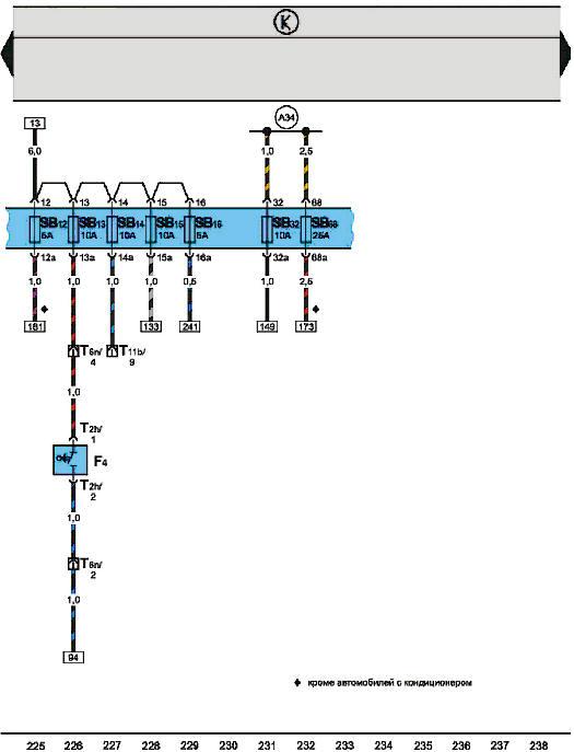 Cхема электрооборудования