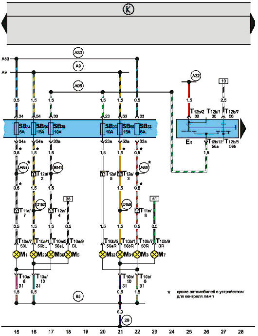 Электросхемы. Cхема